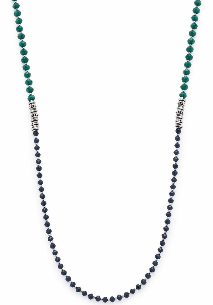 LEONARDO Lange Kette »Corbara, 016381«, mit Glassteinen