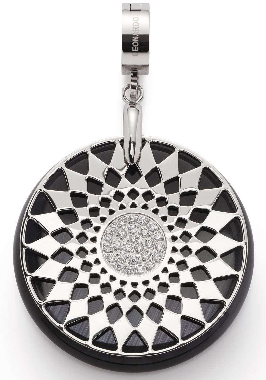 JEWELS BY LEONARDO Charm-Einhänger »Melina Darlin's, 016395«, mit Kristall- und Glassteinen
