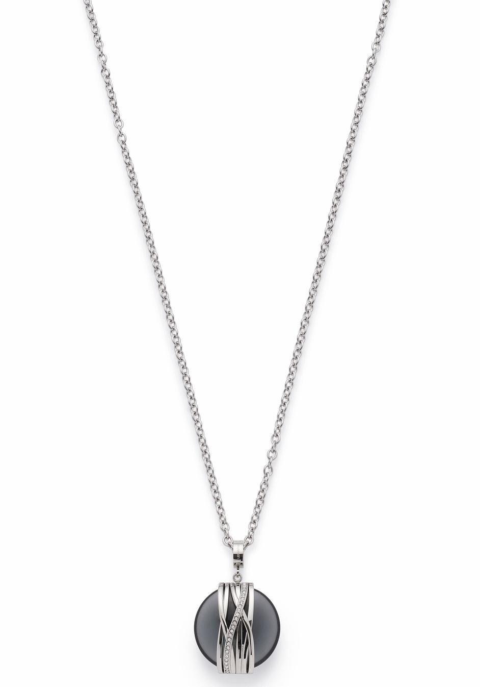 LEONARDO Kette mit Einhänger »Verona, 016367« mit Glas- und Kristallsteinen