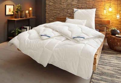 Bettdecke + Kopfkissen, »BeCo Proneem«, Beco, Bezug: Baumwoll-Perkal, mit Antimilben-Ausrüstung