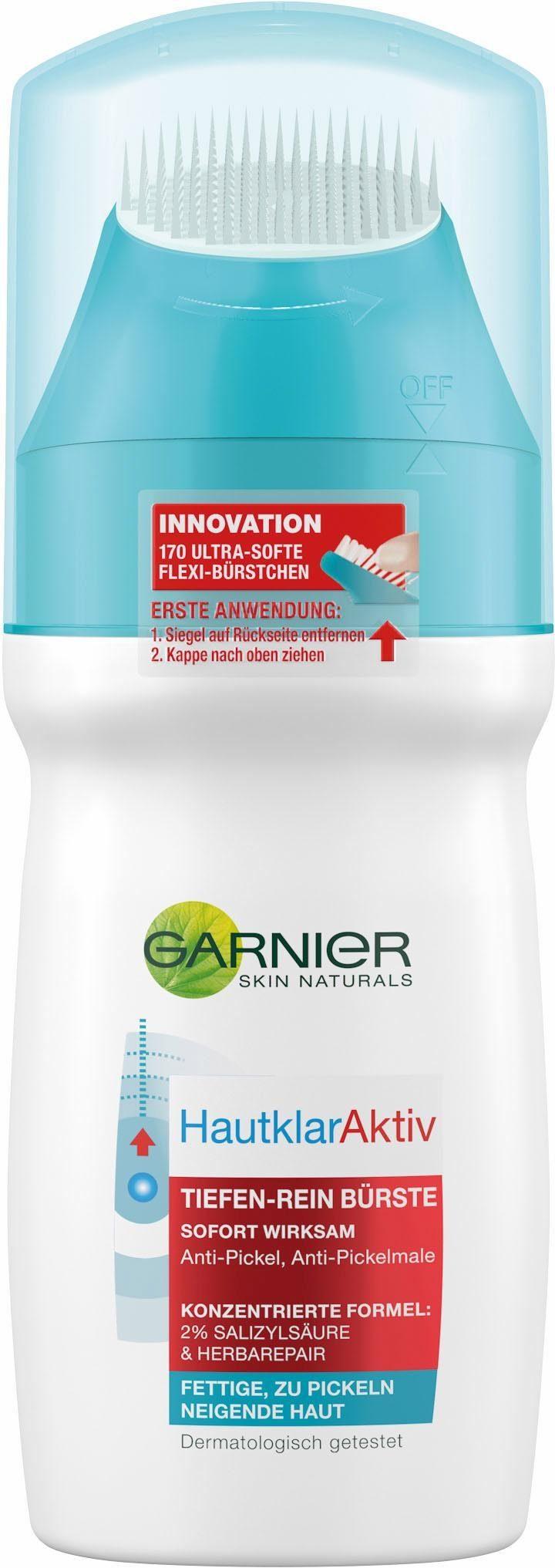 Garnier, »Hautklar Aktiv Tiefenrein Bürste«, Gesichtsreinigung