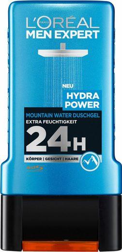 L'ORÉAL PARIS MEN EXPERT Duschgel »Hydra Power Mountain Water«, Gesicht, Körper & Haare