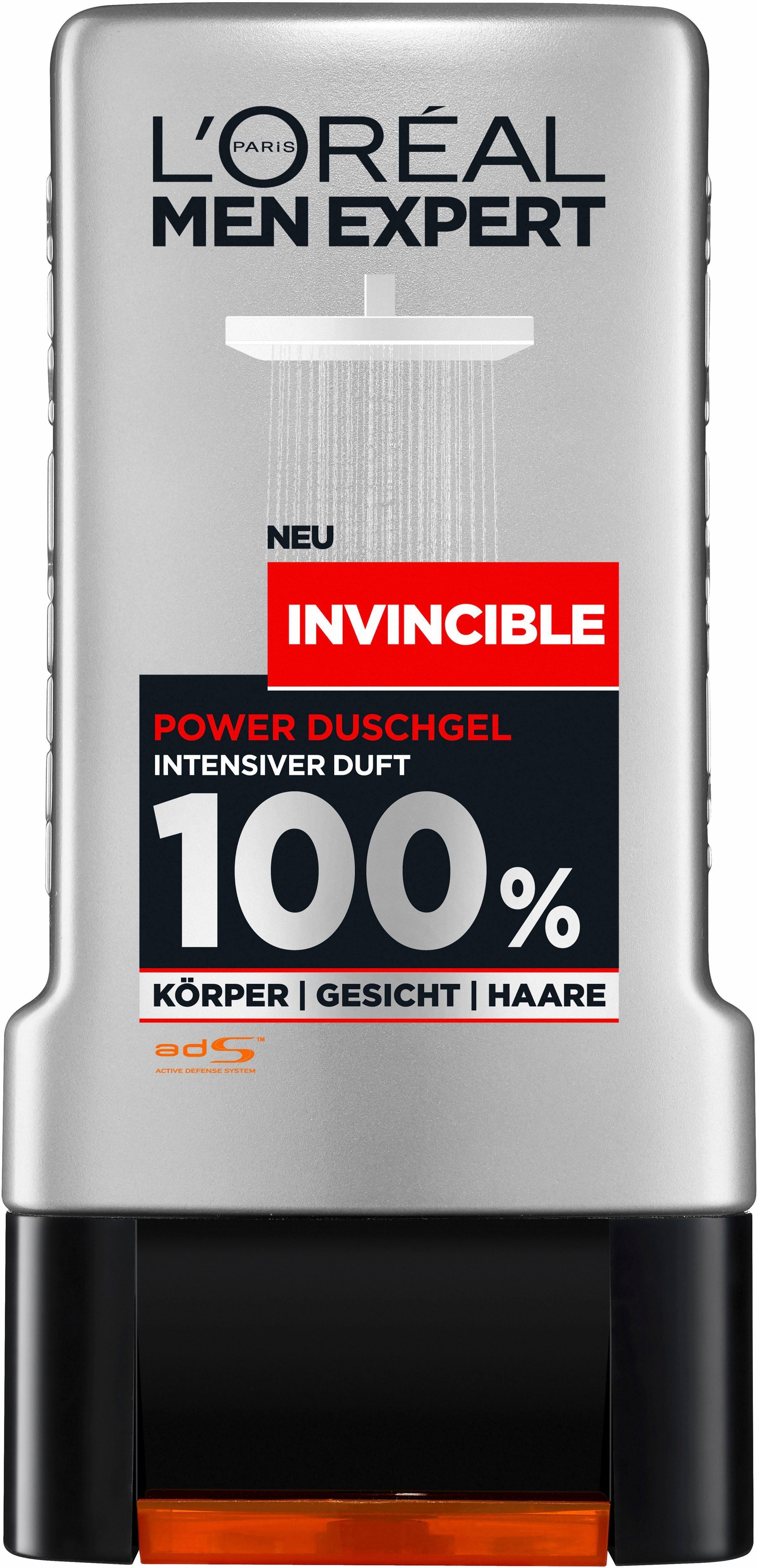 L'Oréal Paris Men Expert, »Men Expert Duschgel Invincible«, Duschgel