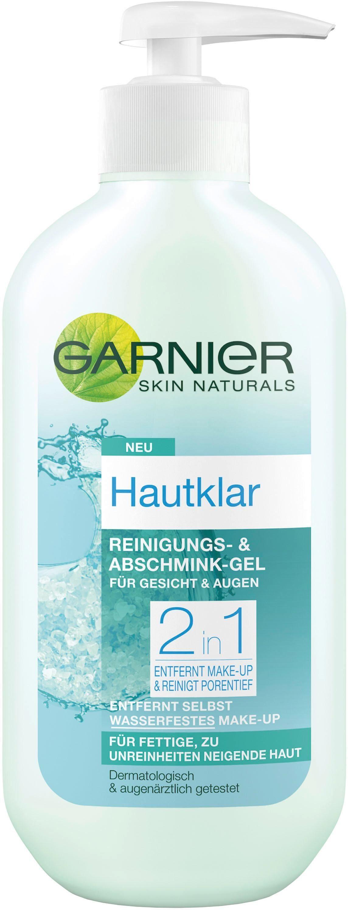 Garnier, »Hautklar 2n1 Abschmink-Gel Gesicht & Augen«, Gesichtsreinigung