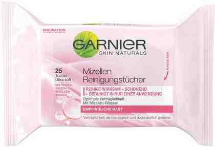 Garnier, »Mizellen Reinigungstücher«, Gesichtsreinigung