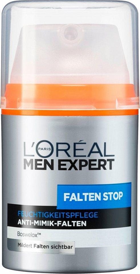 L'ORÉAL PARIS MEN EXPERT Anti-Aging-Creme »Falten Stop..