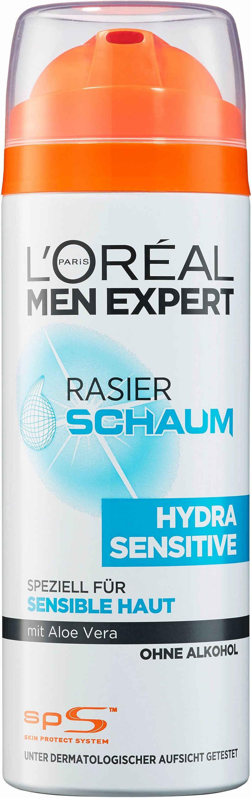 L'ORÉAL PARIS MEN EXPERT Rasierschaum »Hydra Sensitive«, pflegt sensible Haut während & nach der Rasur