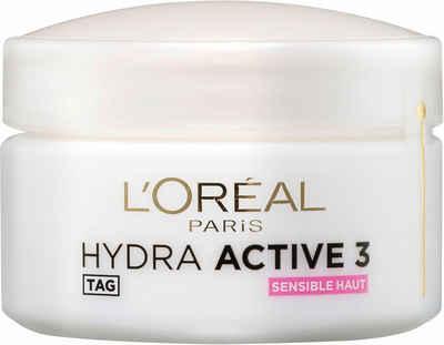 L'ORÉAL PARIS Feuchtigkeitscreme »Hydra Active 3«, Mit Hydrokomplex