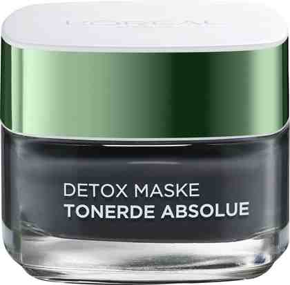 L'Oréal Paris, »Tonerde Absolue Detox Maske (black)«, Gesichtsmaske