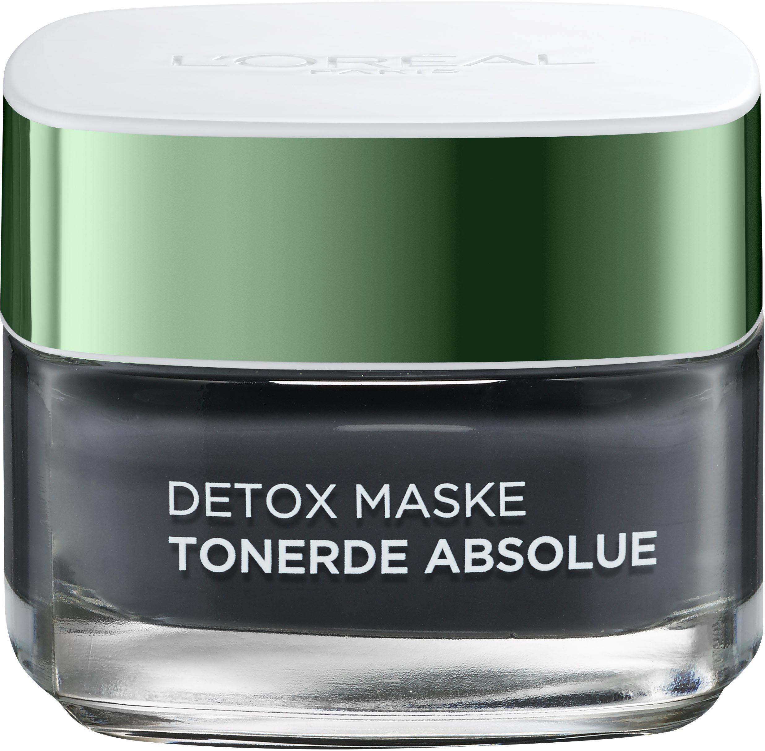 L'Oréal Paris, »Tonerde Absolue Detox Maske (black)«, Gesichtsmaske