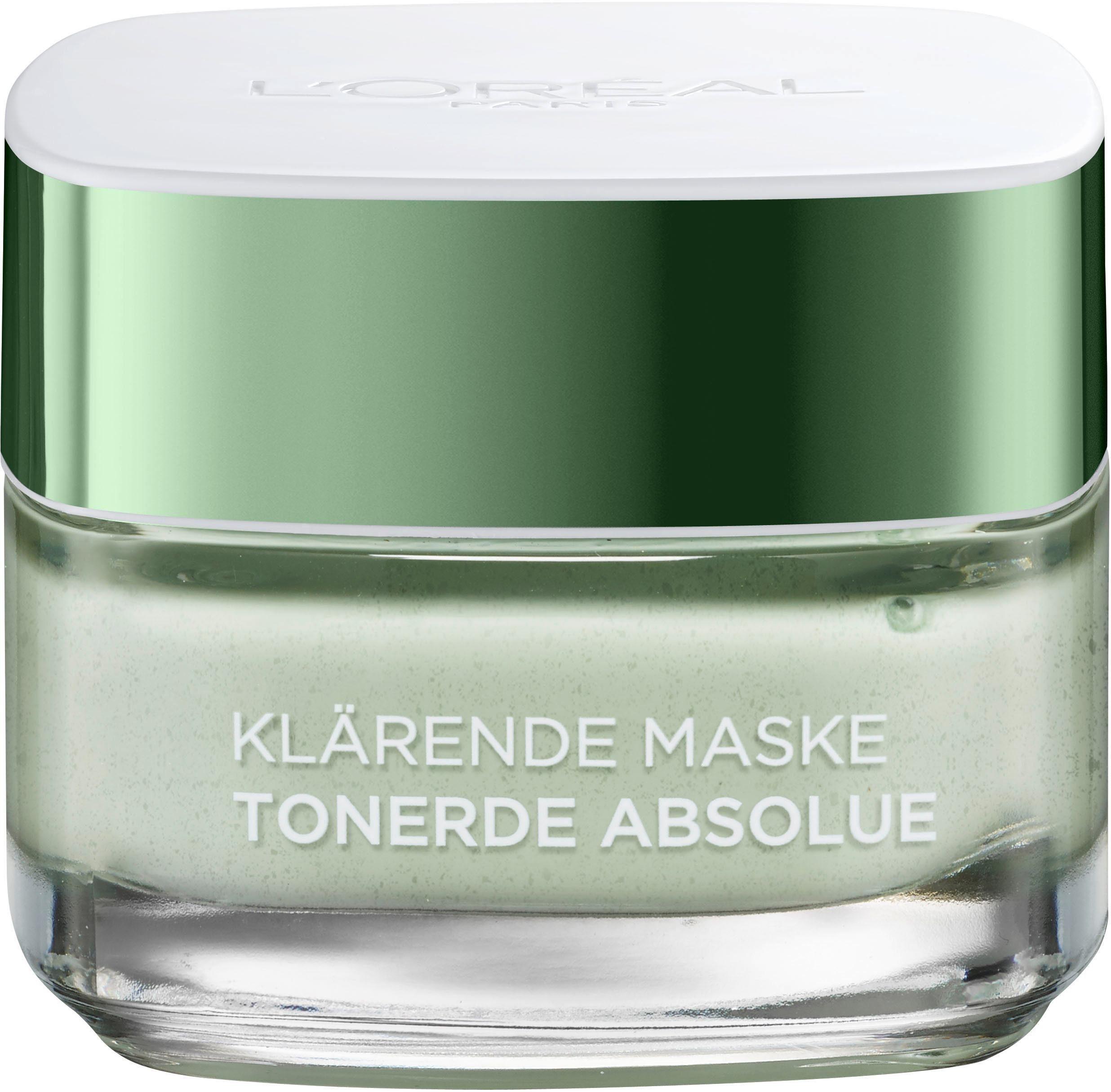 L'Oréal Paris, »Tonerde Absolue Klärende Maske (green)«, Gesichtsmaske