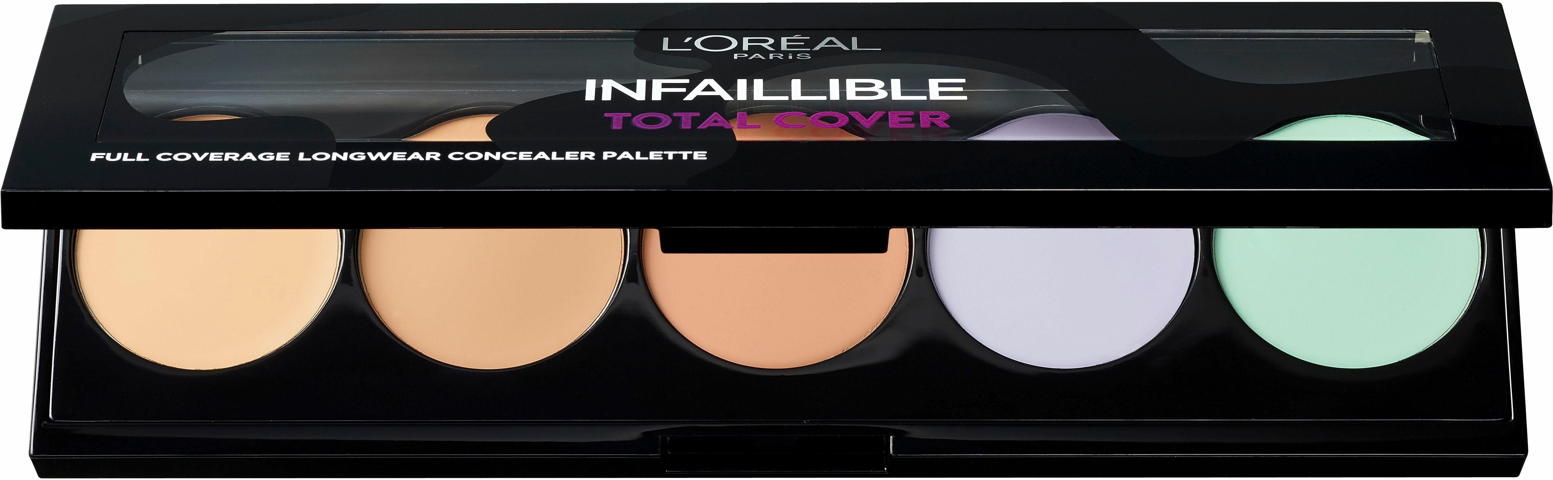 L'Oréal Paris, »Infaillible Total Cover Palette«, Concealer