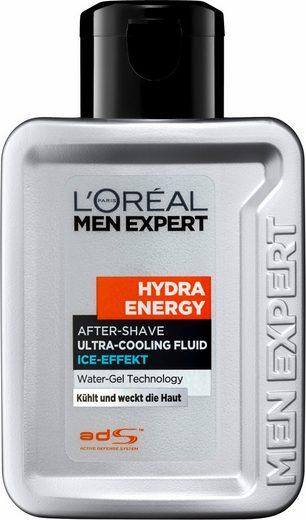 L'ORÉAL PARIS MEN EXPERT After-Shave »Hydra Energy Fluid Ice Effect«, kühlt & weckt die Haut