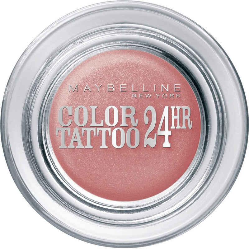 MAYBELLINE NEW YORK Lidschatten »Color Tattoo 24 H«, Innovativen Tinten-Technologie