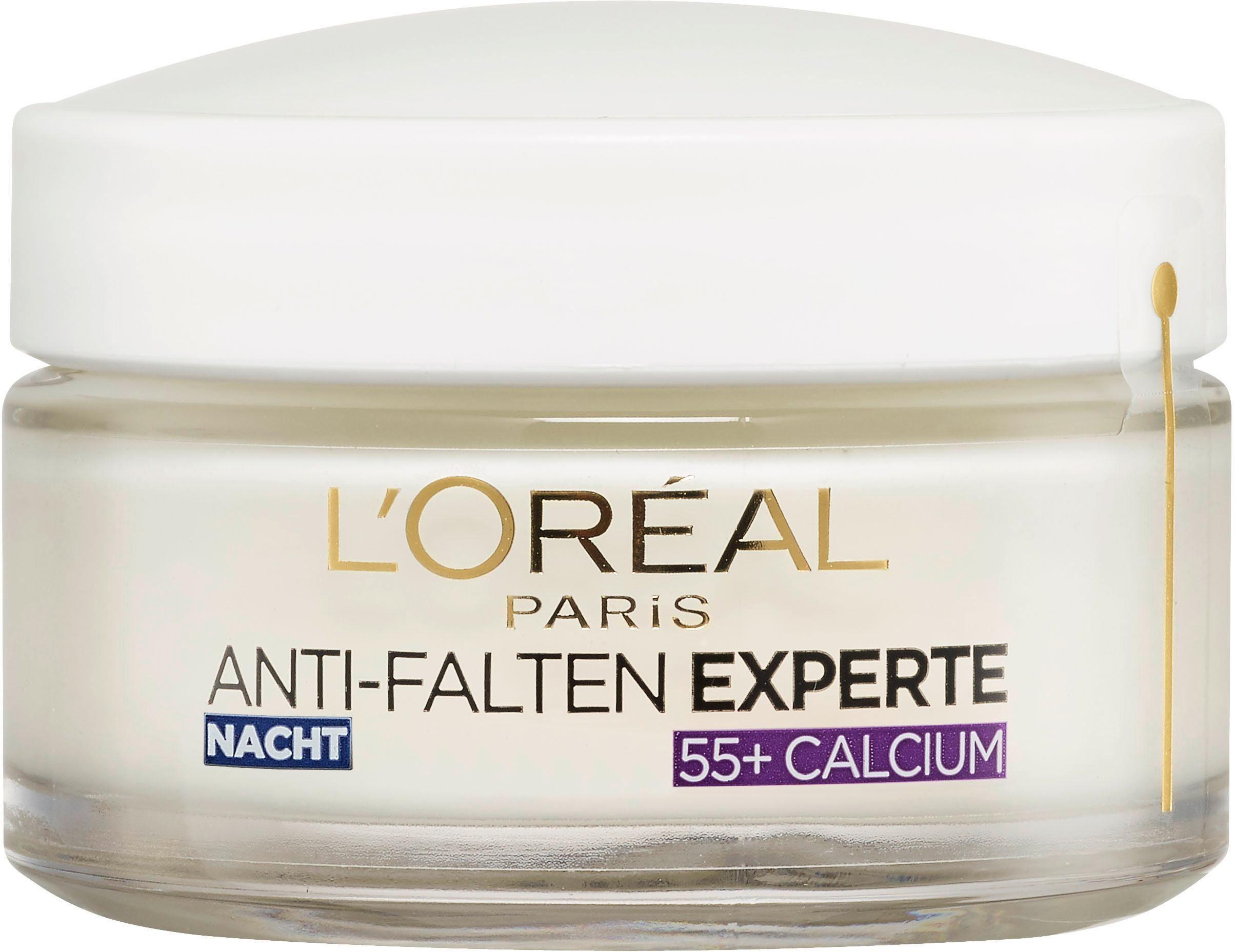 L'Oréal Paris, »Anti-Falten-Expert Calcium 55+ Nachtpflege«, Gesichtspflege