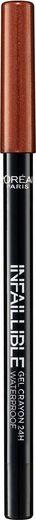 L'ORÉAL PARIS Eyeliner »Infaillible Gel Crayon«, Besondere Gel-Technologie