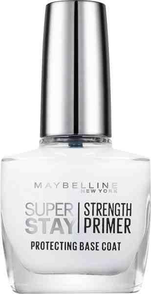 Maybelline New York, »Superstay Nagelpflege Strength Primer Base Coat NU 02«, Nagelpflege