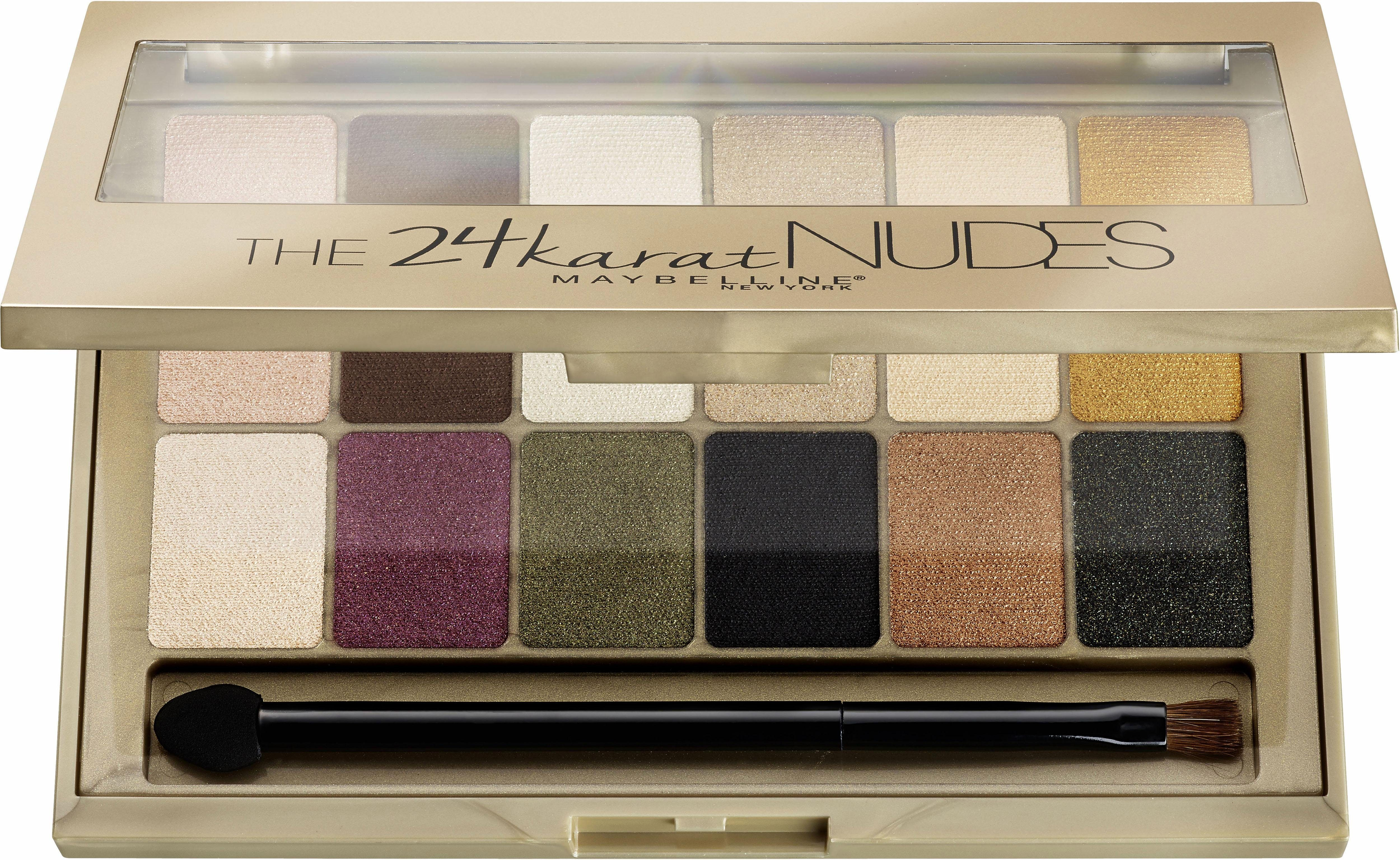 Maybelline New York, »The Karat Nudes Palette«, Lidschatten