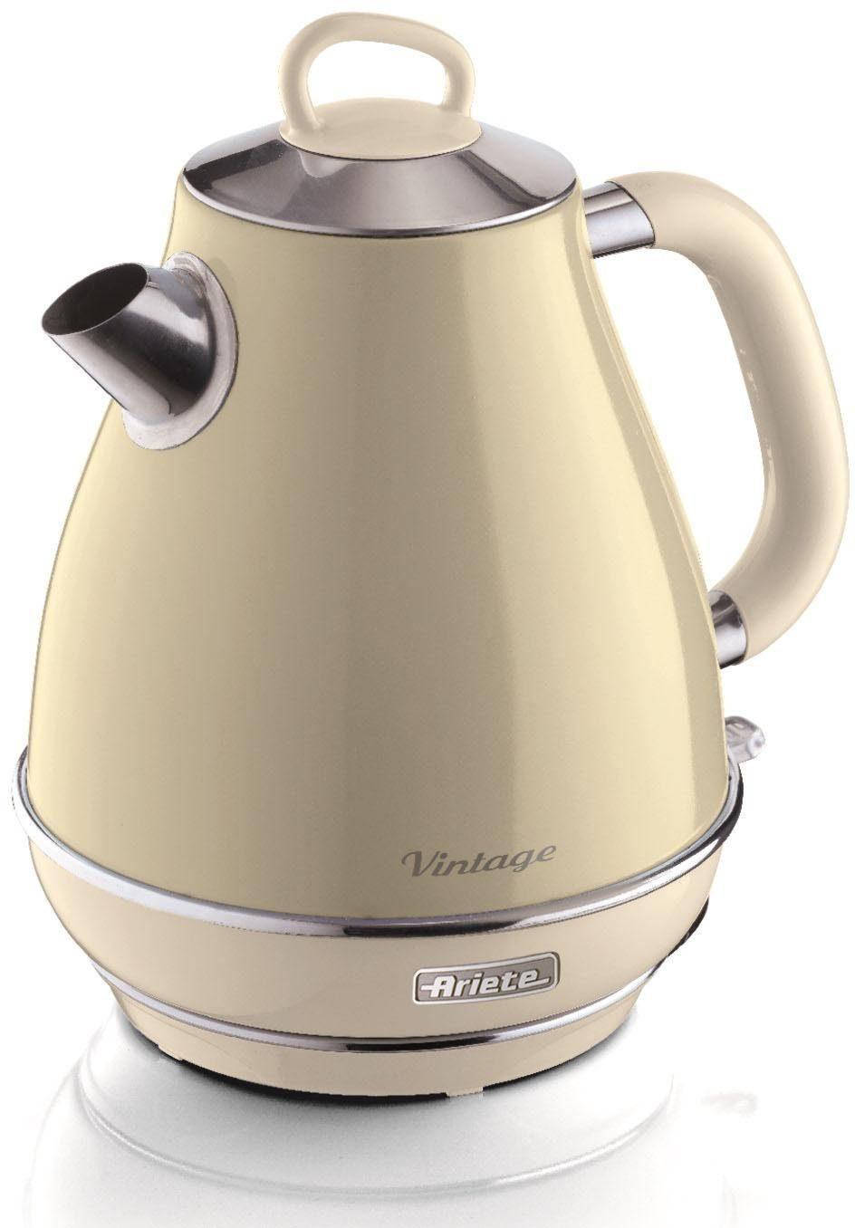 Ariete Wasserkocher 2869 CR Vintage, 1,7 l, 2200 W
