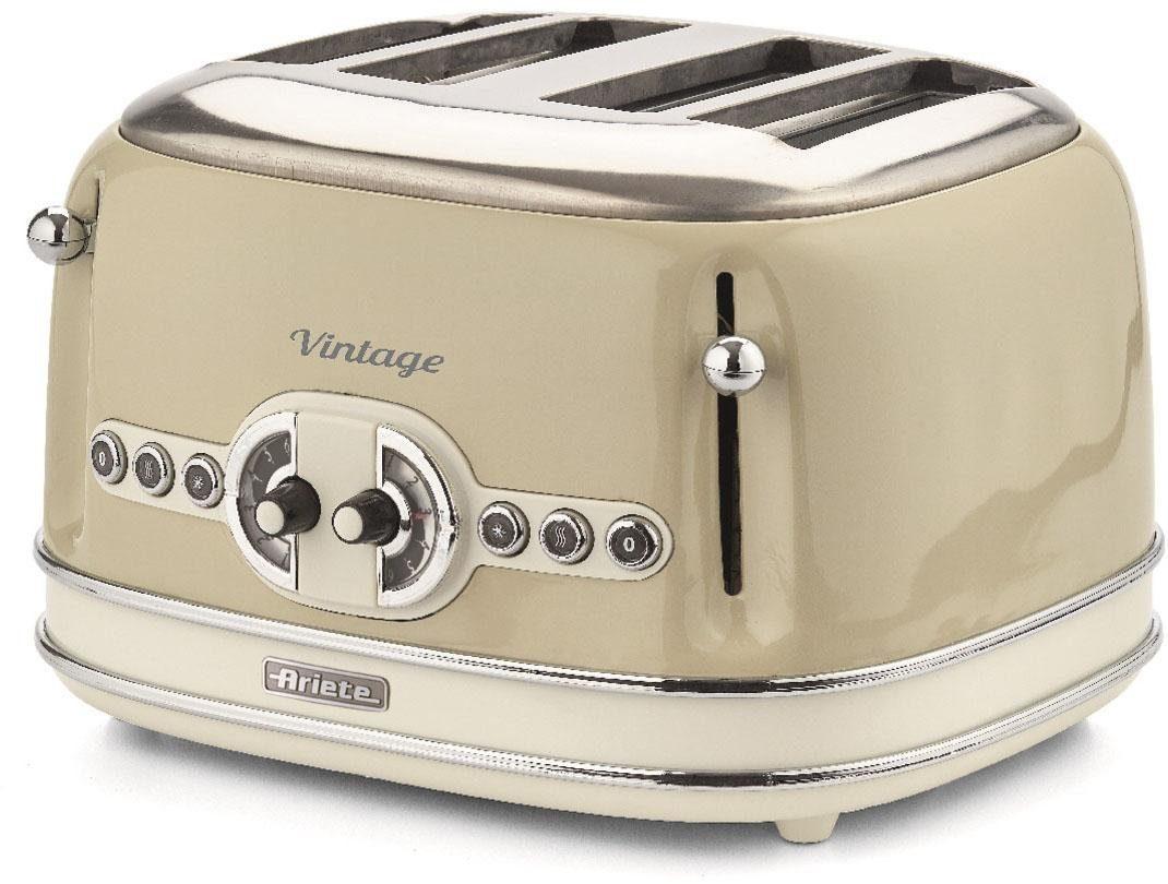Ariete Toaster Vintage, für 4 Scheiben, 1600 W