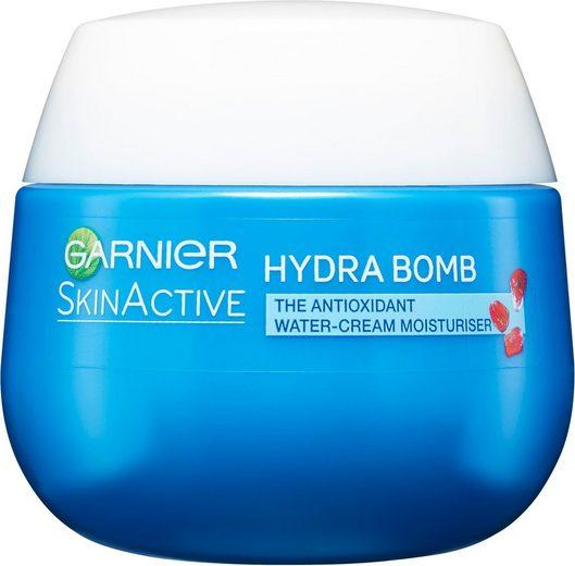 GARNIER Feuchtigkeitscreme »Hydra Bomb Glow Booster«, Feuchtigkeitsspendende Wirkstoffe