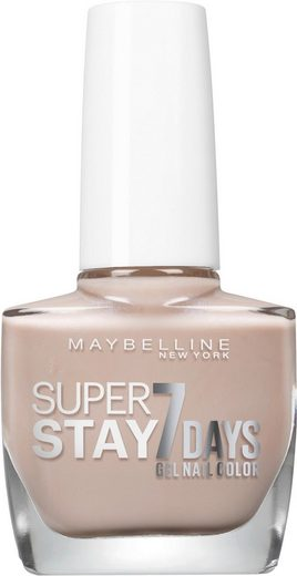 MAYBELLINE NEW YORK Nagellack »Superstay 7 Tage City Nudes«