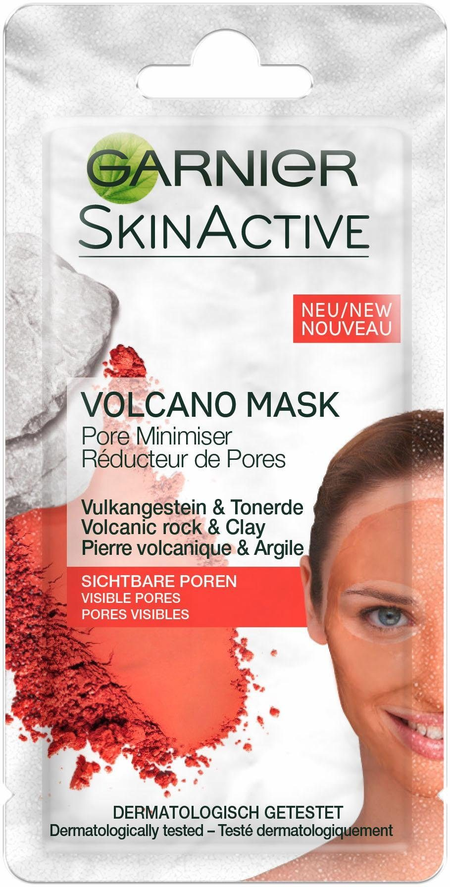Garnier, »Skin Active Sachet Porenverfeindernde Volcano Mask«, Gesichtsmaske