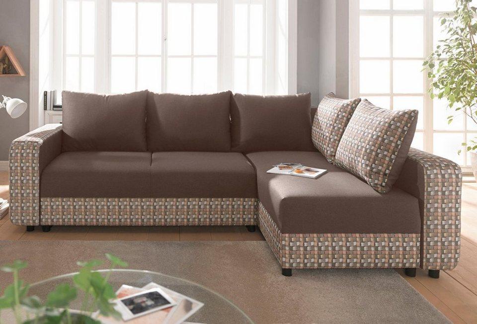exxpo sofa fashion polsterecke wahlweise mit federkern online kaufen otto. Black Bedroom Furniture Sets. Home Design Ideas