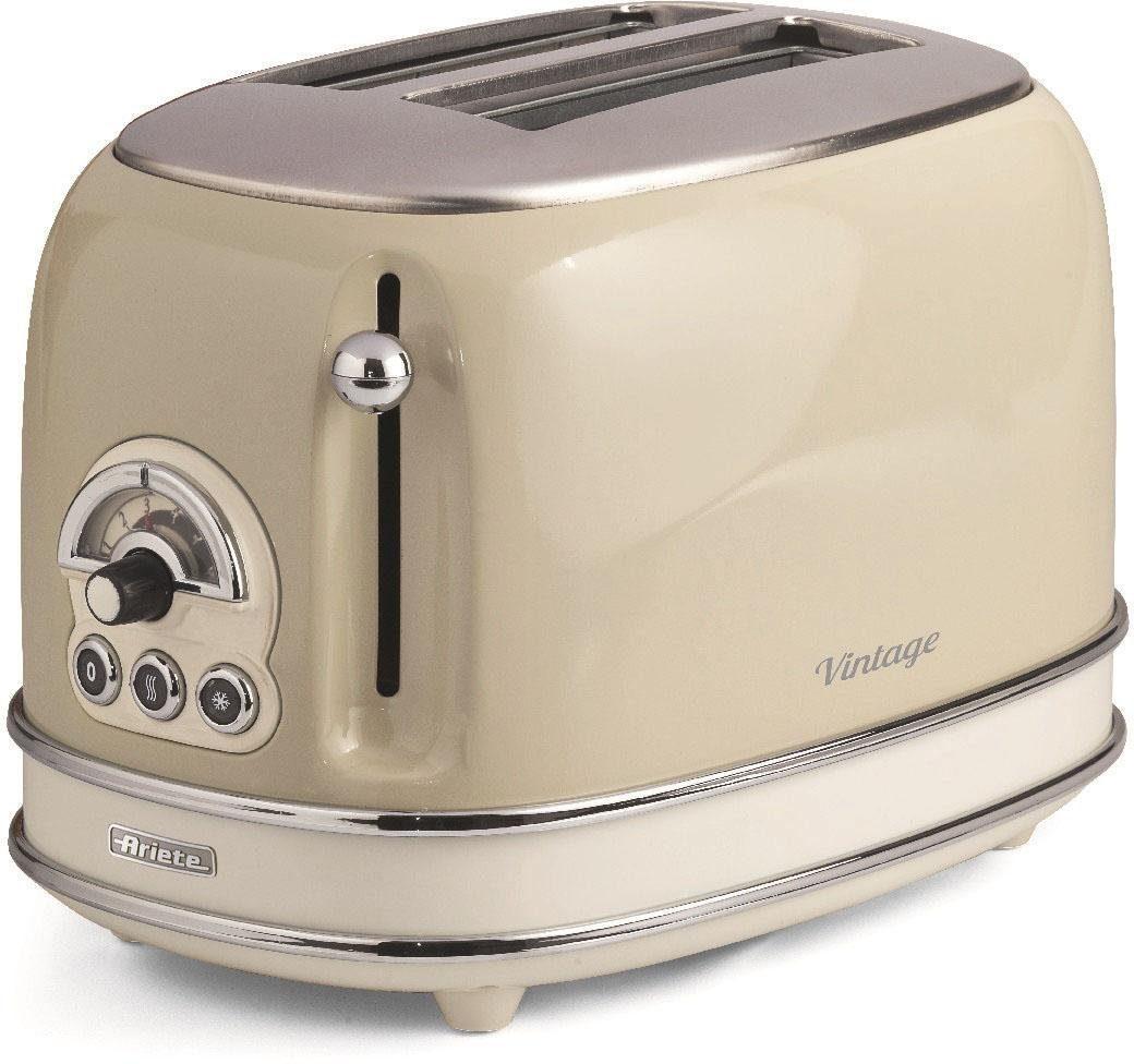 Ariete Toaster Vintage, für 2 Scheiben, 815 W