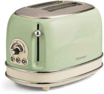 Ariete Toaster Vintage, 2 kurze Schlitze, für 2 Scheiben, 810 W