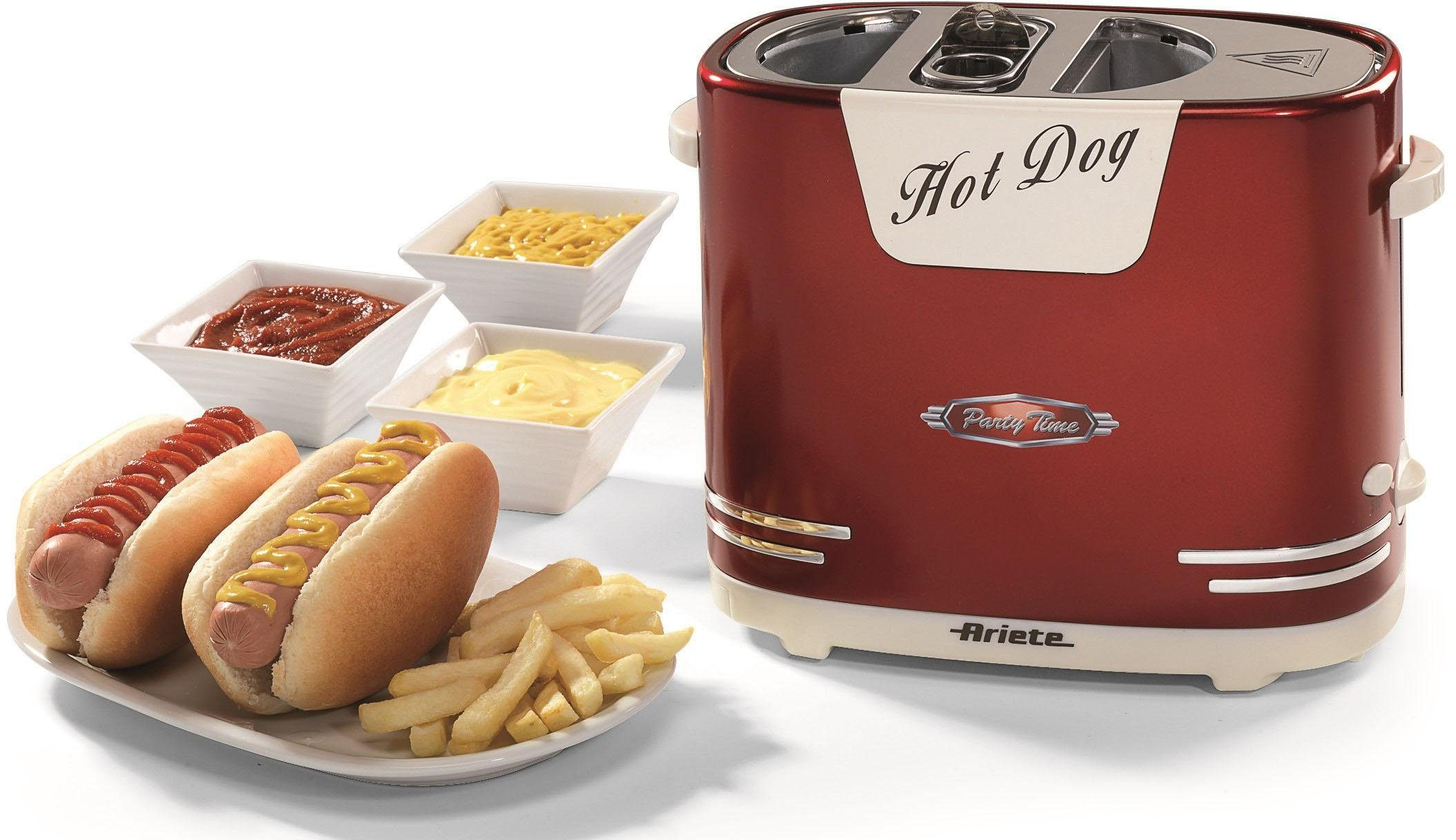 Ariete Hotdog-Maker 186 Party Time, 650 W