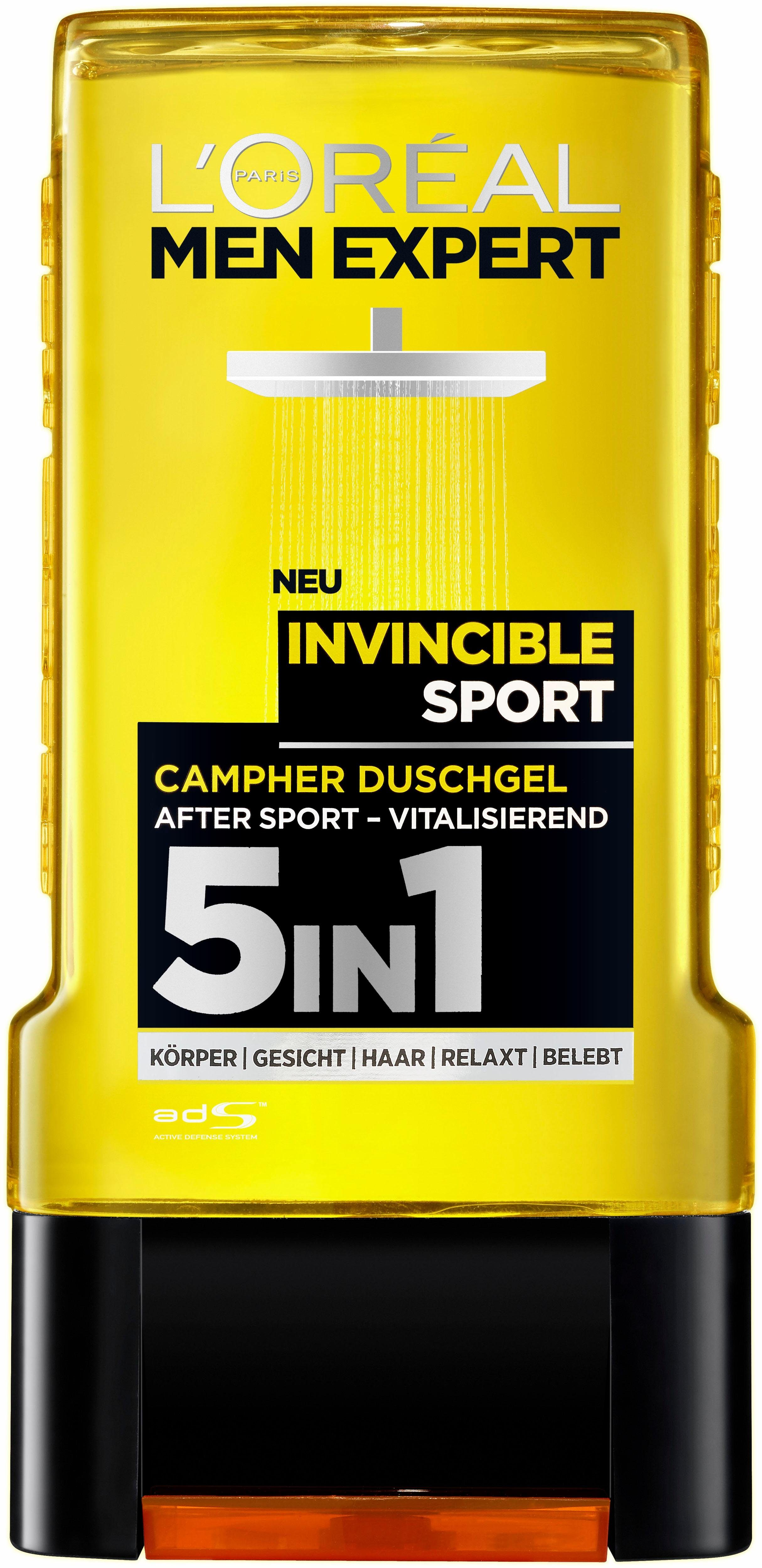 L'Oréal Paris Men Expert, »Men Expert Duschgel Invincible Sport«, Duschgel