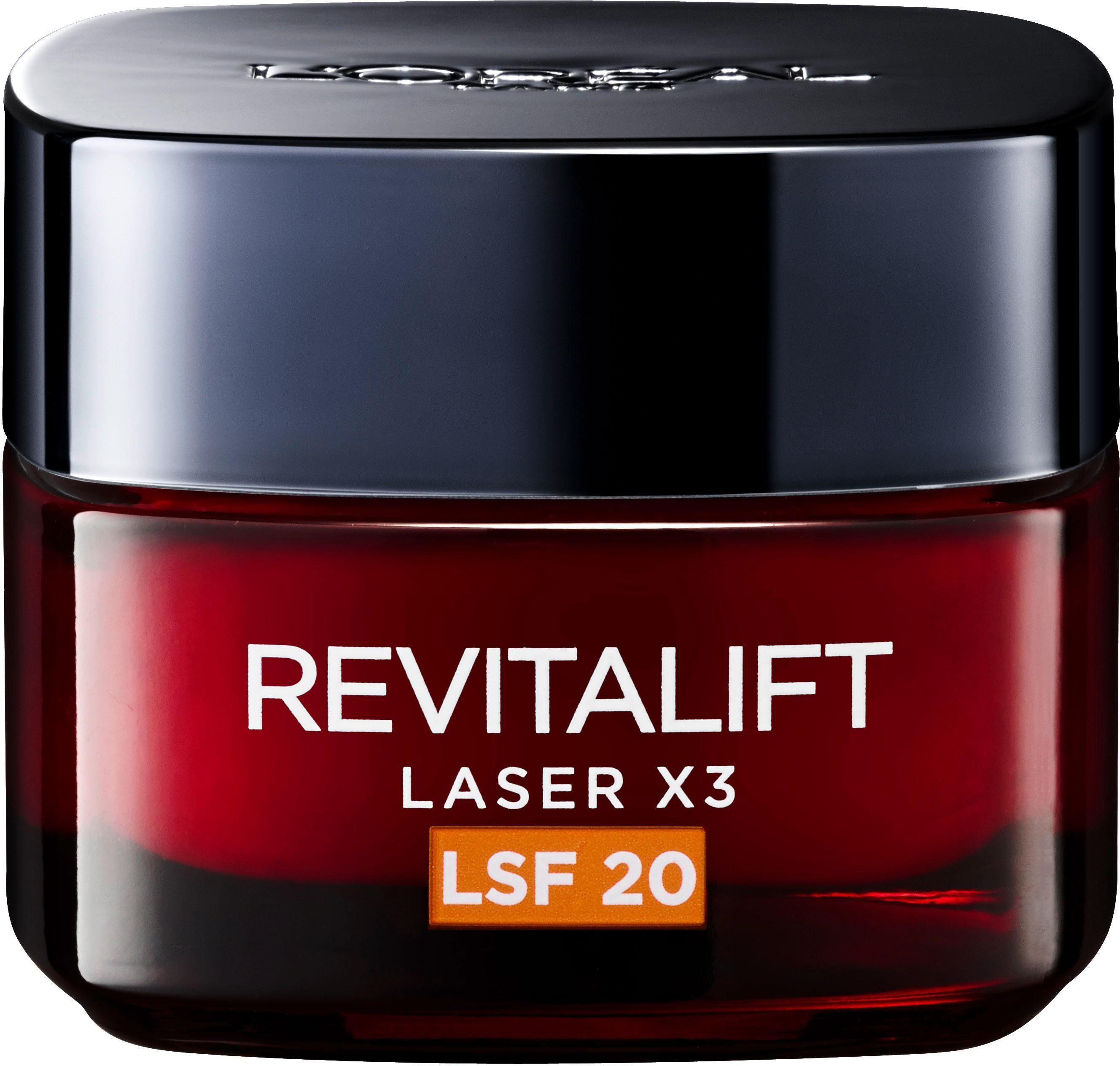L'Oréal Paris, »RevitaLift Laser X3 Tagespflege LSF20«, Gesichtspflege