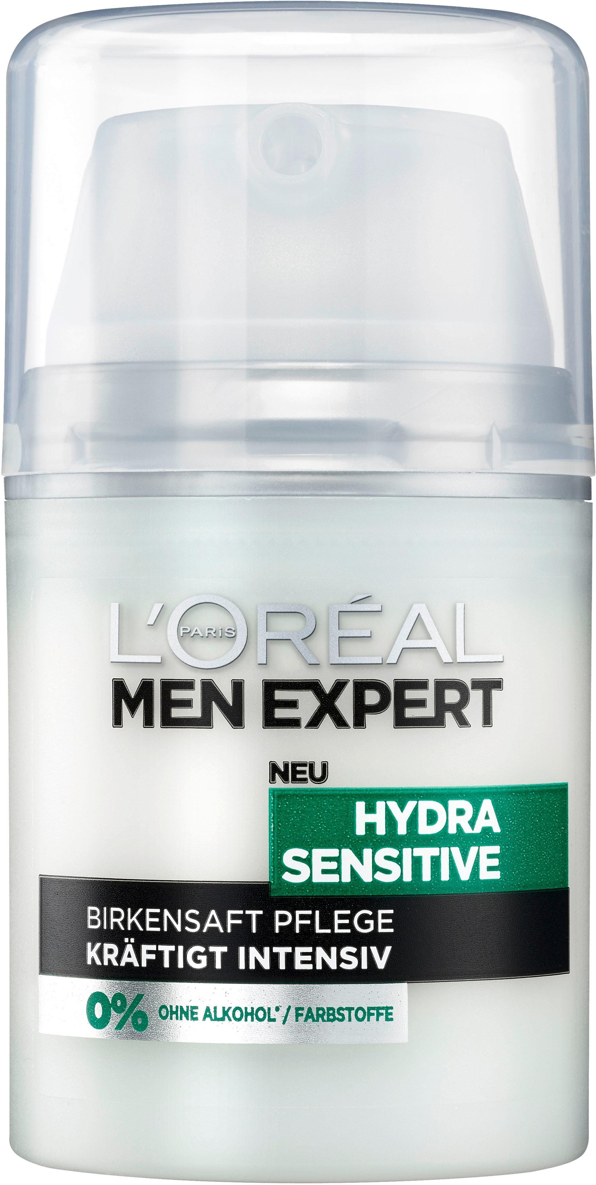 L'Oréal Paris Men Expert, »Hydra Sensitive Birkensaft Feuchtigkeitspflege«, Männerpflege