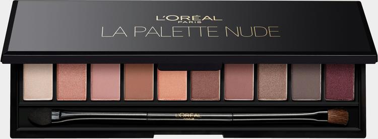 L'ORÉAL PARIS Lidschatten »Color Riche La Palette Eye Rosé«, Einfache Handhabung