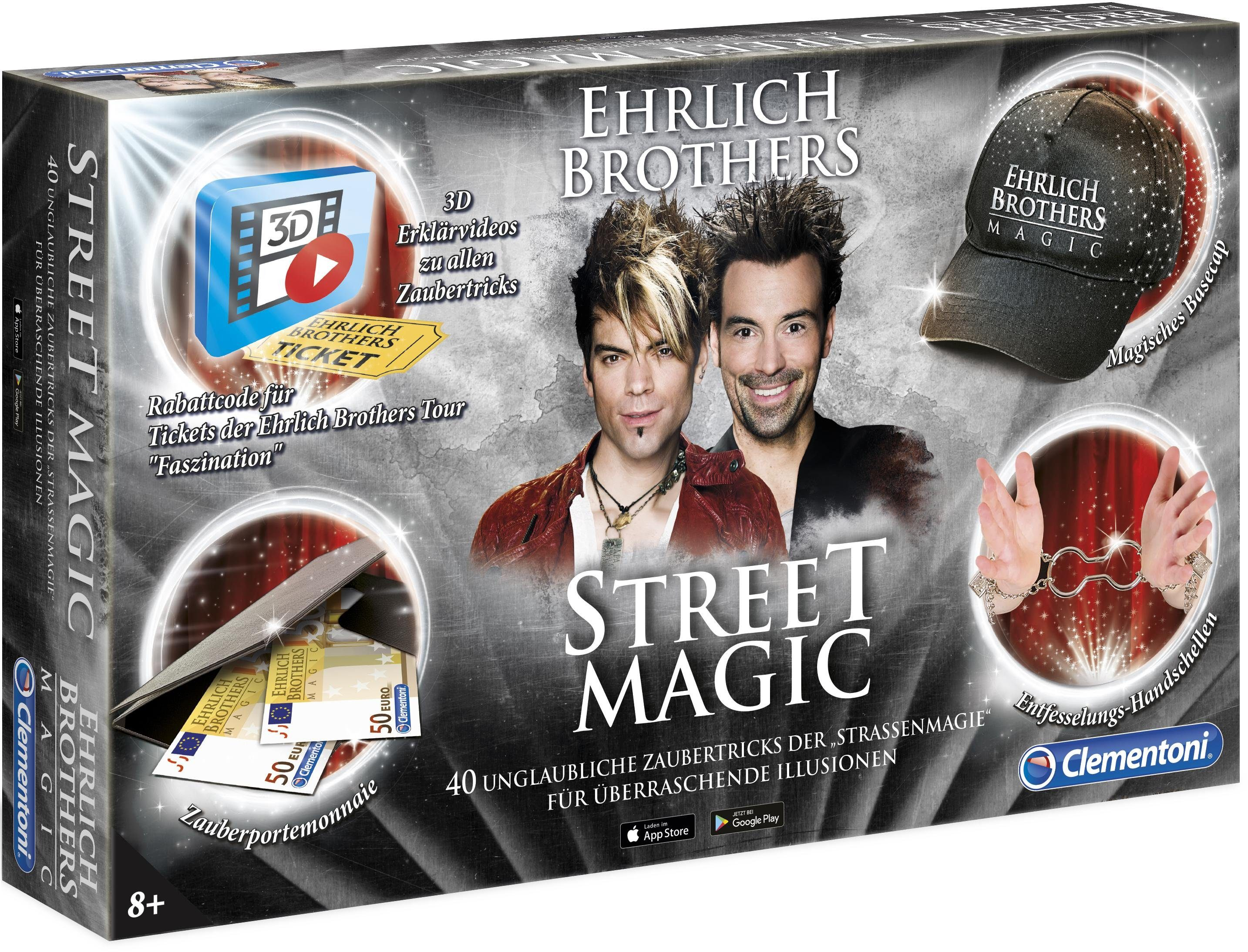 Clementoni Zauberkasten, »Ehrlich Brothers: Street Magic«