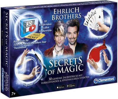 Clementoni® Zauberkasten »Ehrlich Brothers Secrets of Magic«, Made in Europe