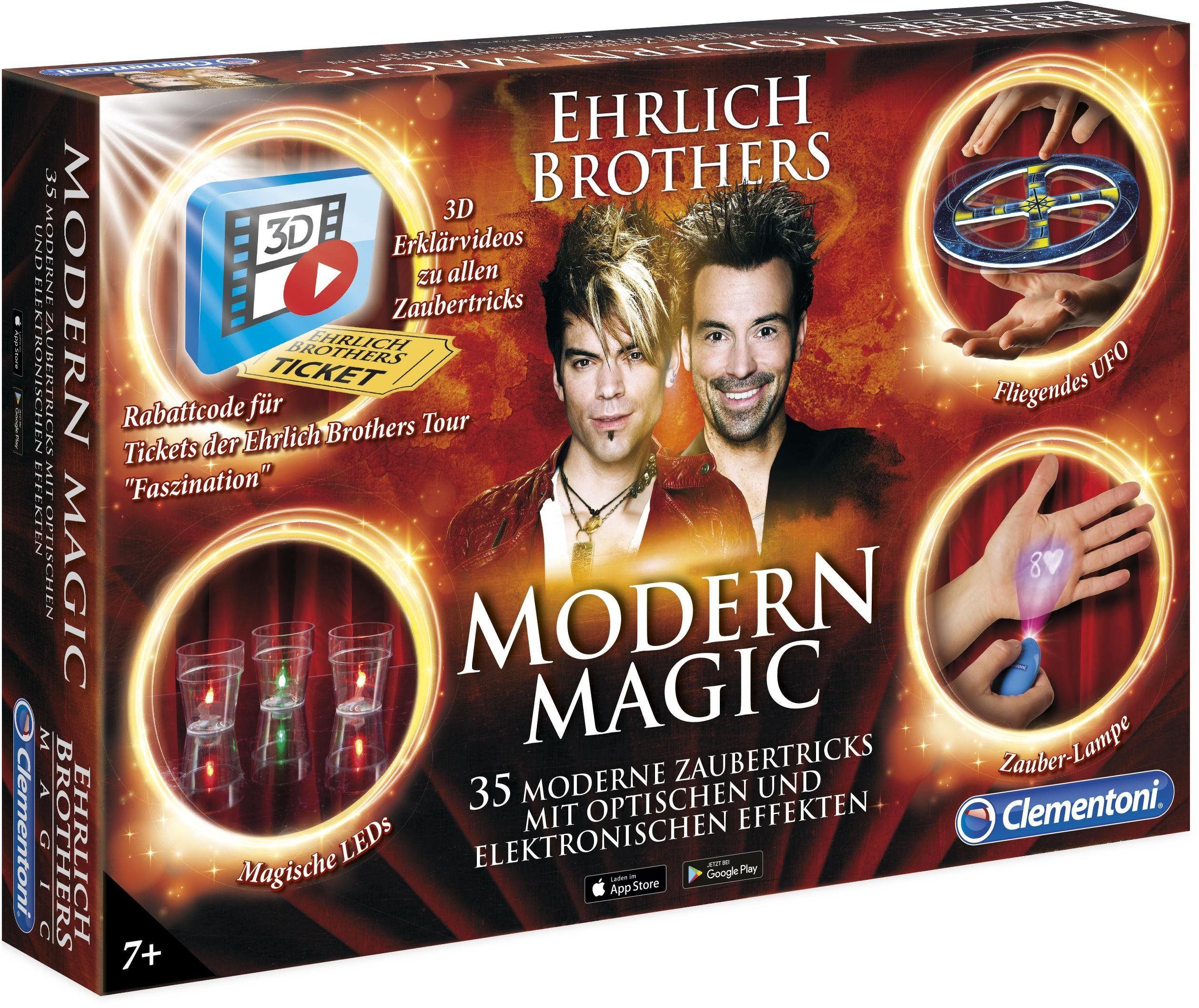 Clementoni Zauberkasten, »Ehrlich Brothers: Modern Magic«