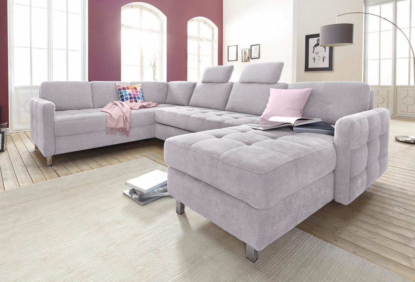 sit&more Wohnlandschaft, wahlweise mit Bettfunktion und Bettkasten   Wohnzimmer > Sofas & Couches > Wohnlandschaften   sit&more