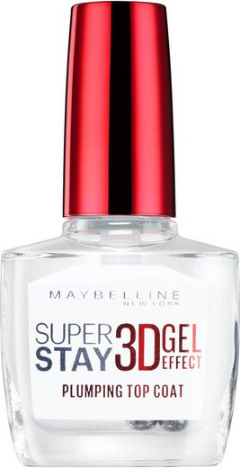 MAYBELLINE NEW YORK Überlack »Superstay 7 Tage 3D Gel Topcoat«