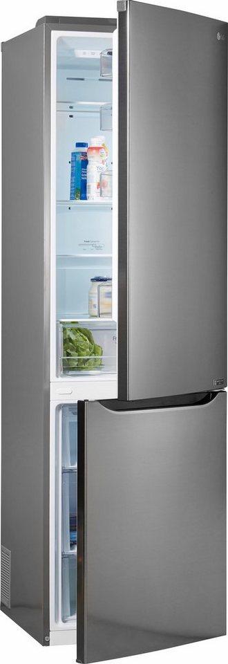 lg k hl gefrierkombination gbp20pzcfs 201 cm hoch 59 5. Black Bedroom Furniture Sets. Home Design Ideas