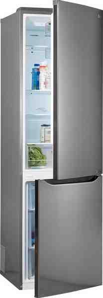 LG Kühl-/Gefrierkombination GBP20PZCFS, 201 cm hoch, 59,5 cm breit