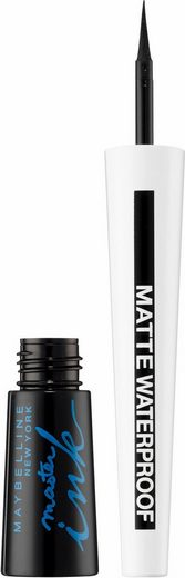 MAYBELLINE NEW YORK Eyeliner »Master Ink Matte Waterproof«, Flüssig-Eyeliner