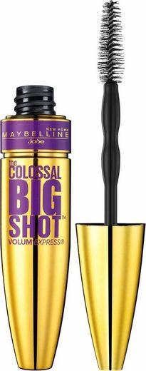 MAYBELLINE NEW YORK Mascara »Mascara VEX Colossal Big Shot«, Collagen-Formel