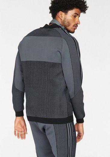 adidas Originals Trainingsjacke PLGN TT, Strickoptik