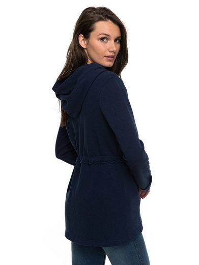 Roxy Hooded Sweatshirt With Zipper Wandering Nights