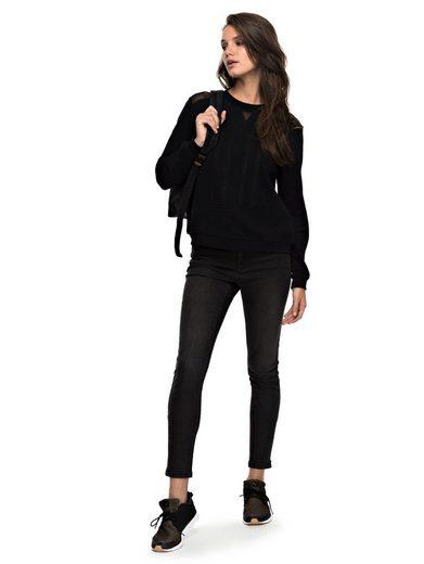 Roxy Boxy Fit Sweatshirt Ride Freely
