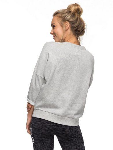 Roxy Sweatshirt mit 3/4 Ärmeln Over Loop