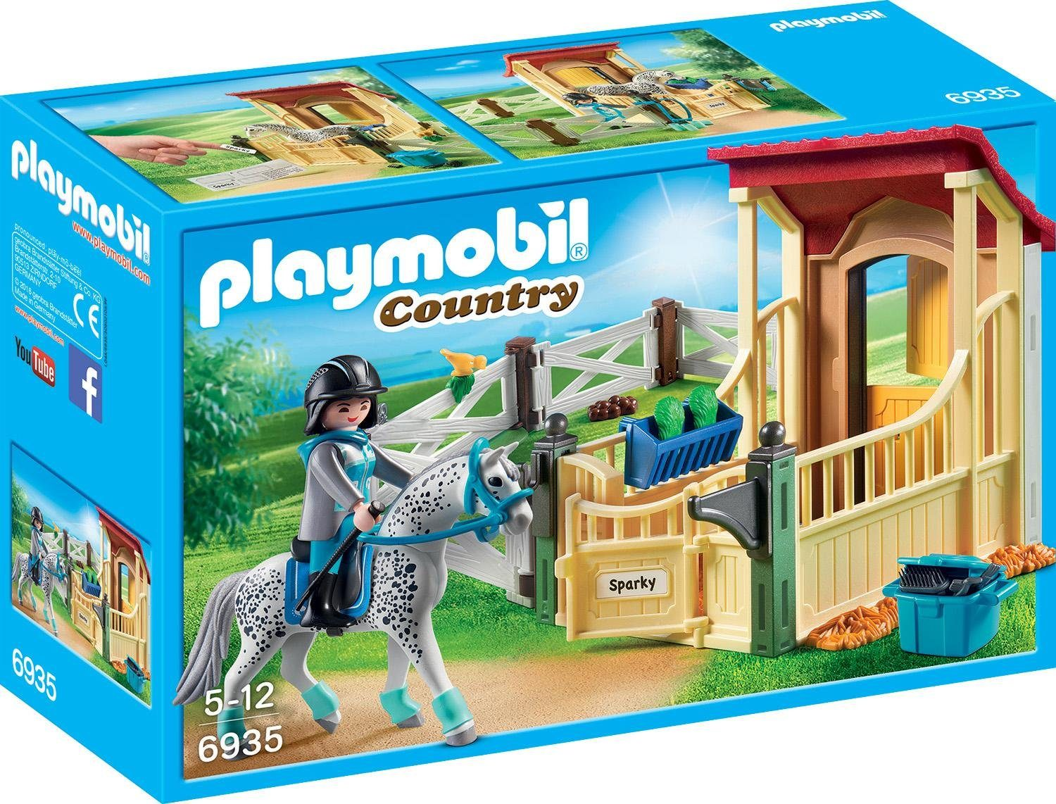 Playmobil® Pferdebox »Appaloosa« (6935), »Country«