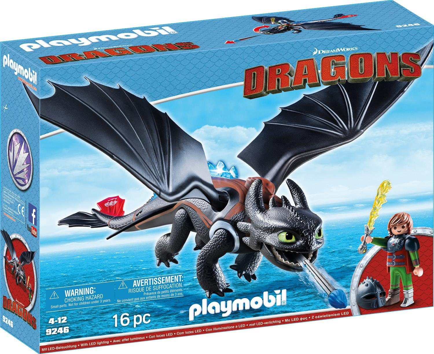 Playmobil® Hicks und Ohnezahn (9246), »Dragons«